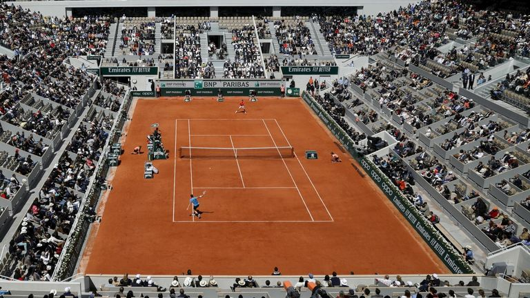 Roland Garros, where the French Open main draw gets underway on September 27