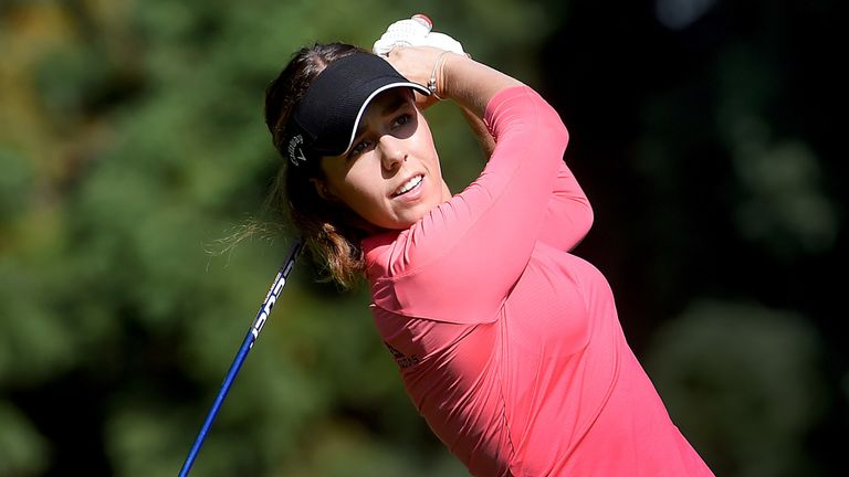 Hall won Cambia Portland Classic at the second extra hole