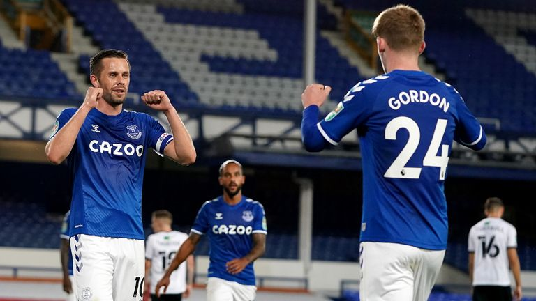Gylfi Sigurdsson marked his first start of the season with a man-of-the-match performance