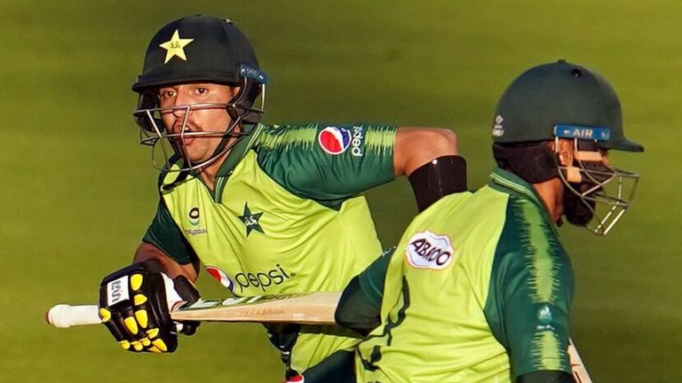 Mohammad Hafeez says Haider was excellent under pressure as his Pakistan team-mate scored a debut T20I fifty