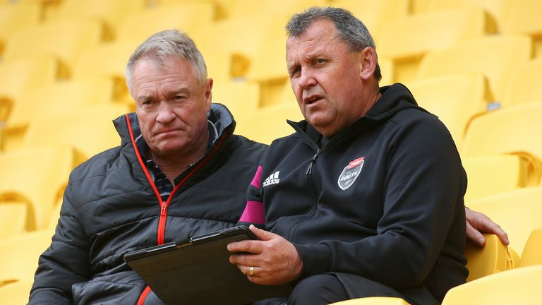 Foster and All Black selector Grant Fox will announce the next New Zealand squad on Sunday