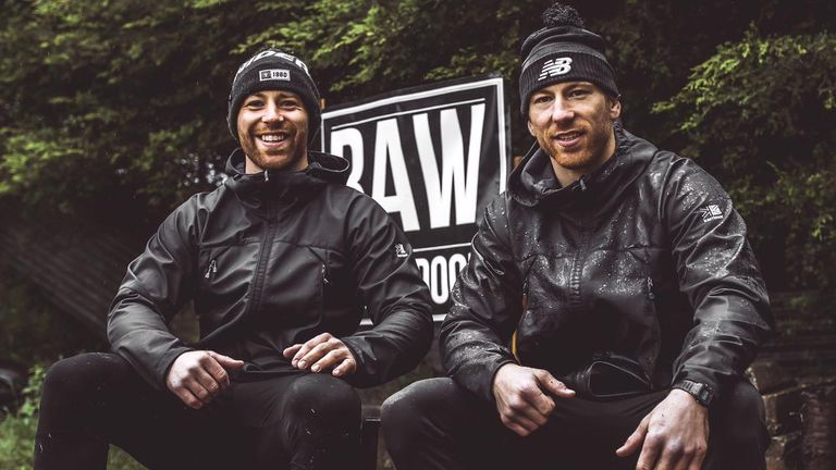 Rugby-playing brothers Jordan and Adam Walne have set up an outdoor fitness training business