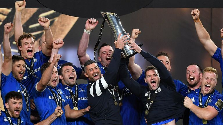 Leinster clinched a third PRO14 title in succession, going unbeaten in the 2019/20 domestic season