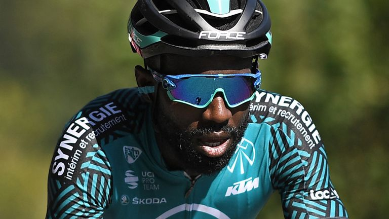 Kevin Reza was the only black rider at this year's Tour de France