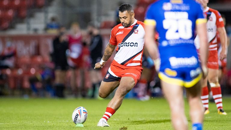 Krisnan Inu kicked the winning points for Salford