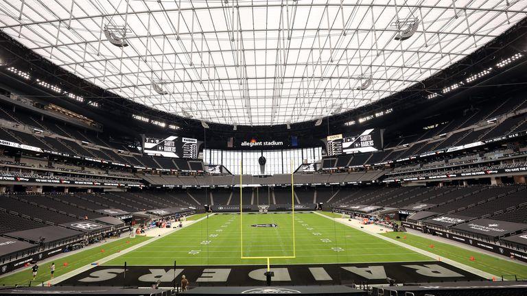 Las Vegas Raiders new home - Allegiant Stadium