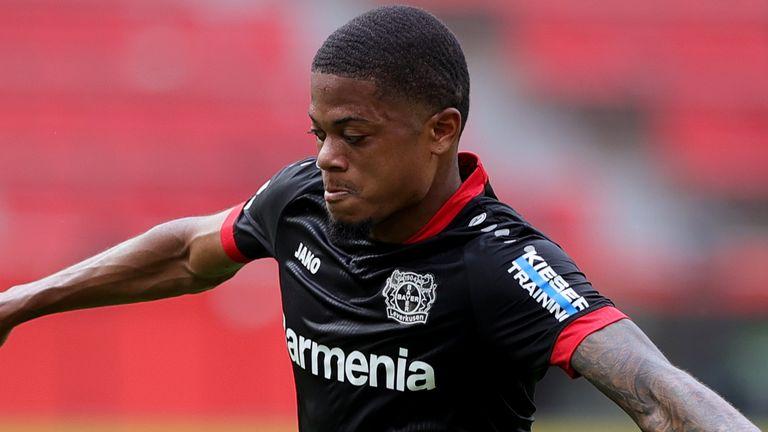 L'ailier du Bayer Leverkusen, Leon Bailey, souhaite passer en Premier League