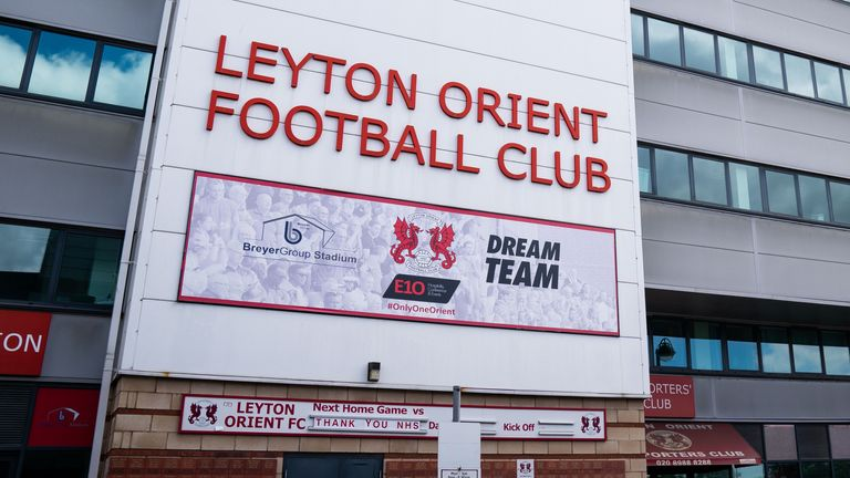 Leyton Orient's tie with Tottenham in the Carabao Cup has been postponed