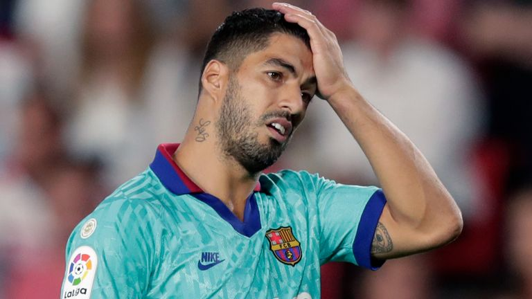 Suarez's final game for Barcelona was their infamous 8-2 defeat to Bayern Munich in the Champions League quarter-finals