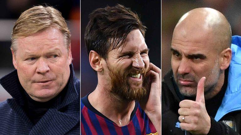 Will Messi be playing for Ronald Koeman or Pep Guardiola next season?