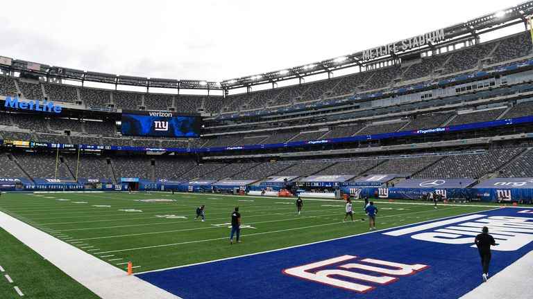 MetLife Stadium is one of 13 stadiums in the NFL to have a synthetic turf surface