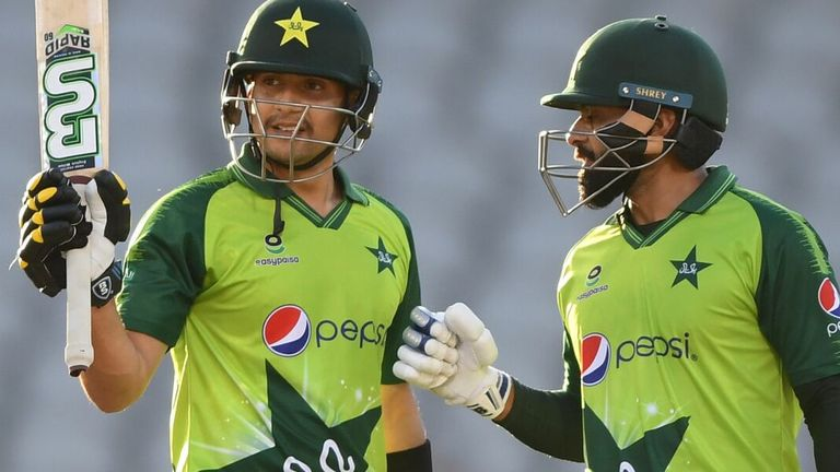 Watch how Mohammad Hafeez and Haider Ali starred with the bat as Pakistan beat England by five runs to ensure the T20I series ended tied at 1-1