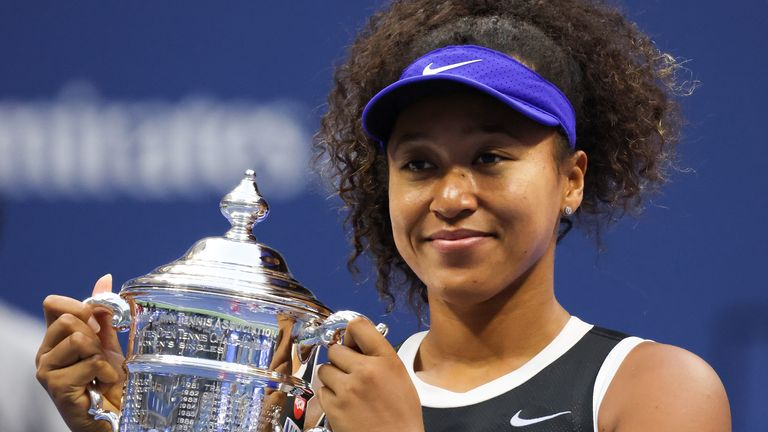 Naomi Osaka claimed the US Open title with a superb comeback victory