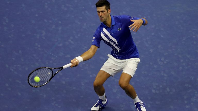 Novak Djokovic says he has been hearing about quite a lot of 'false positive tests'