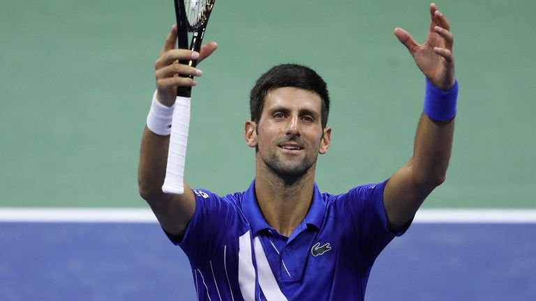 Djokovic's hand gesture has become synonymous when he wins. Sharing the love, light and divine energy. But will he ever be as loved as Federer and Nadal?