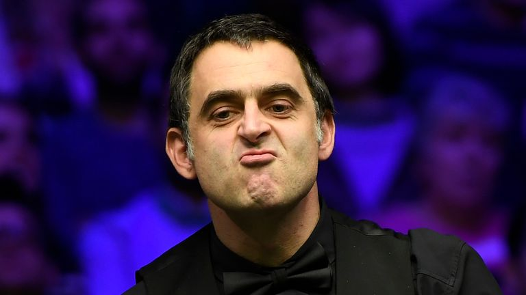 Ronnie O'Sullivan has been critical of the next generation of snooker players