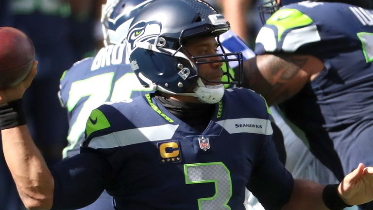 Russell Wilson's five TDs set a new record for the most through three weeks of an NFL season