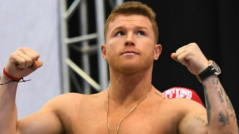 Saul 'Canelo' Alvarez had received a fight for the WBC super-middleweight belt
