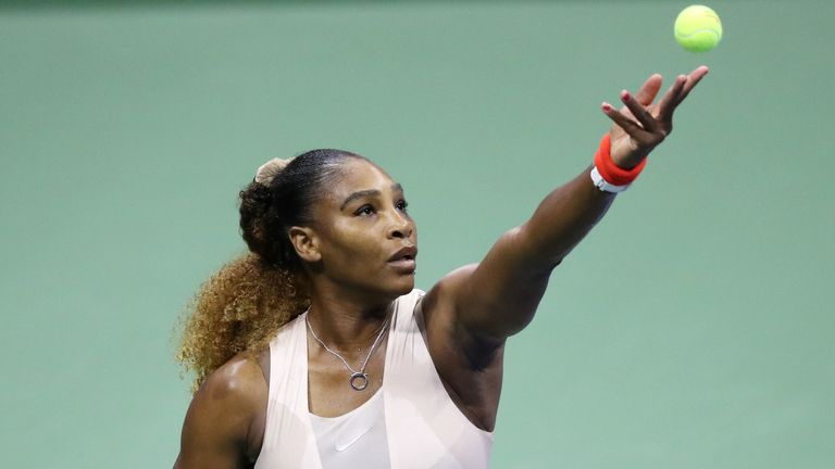Serena Williams will face Sloane Stephens in the next round of the US Open