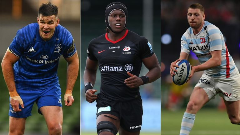 Johnny Sexton's Leinster, Maro Itoje's Saracens and Finn Russell's Racing 92 are in Champions Cup quarter-final action on Saturday...