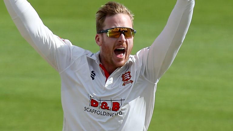 Spinner Simon Harmer has once again been at the forefront of Essex's attack this summer