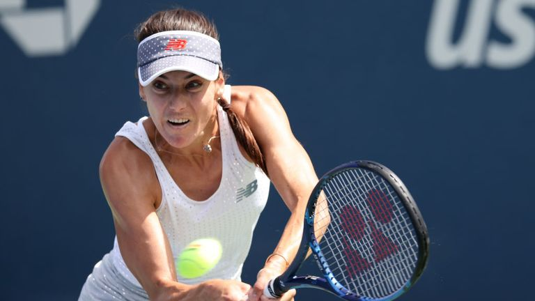 Sorana Cirstea raised her level throughout the match