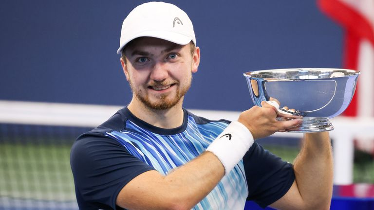Sam Schroder won his first Grand Slam title on his debut