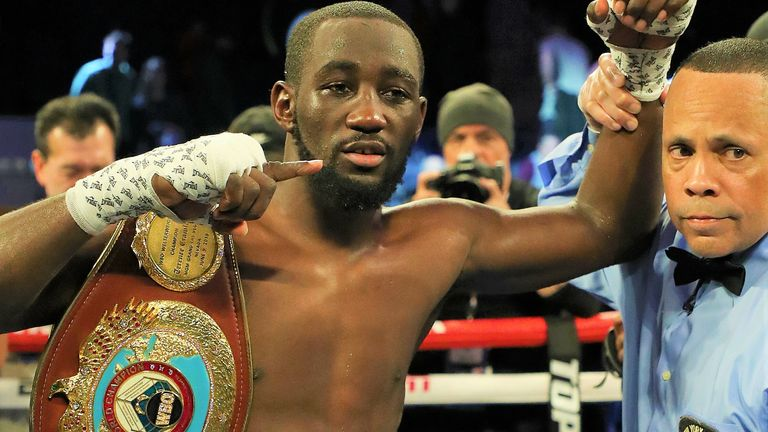 Crawford has claimed world titles in three weight divisions