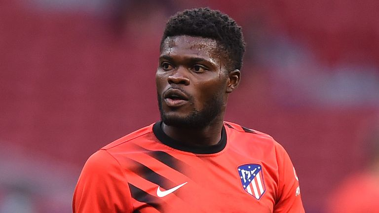Partey's father has said the midfielder would be happy to join Arsenal