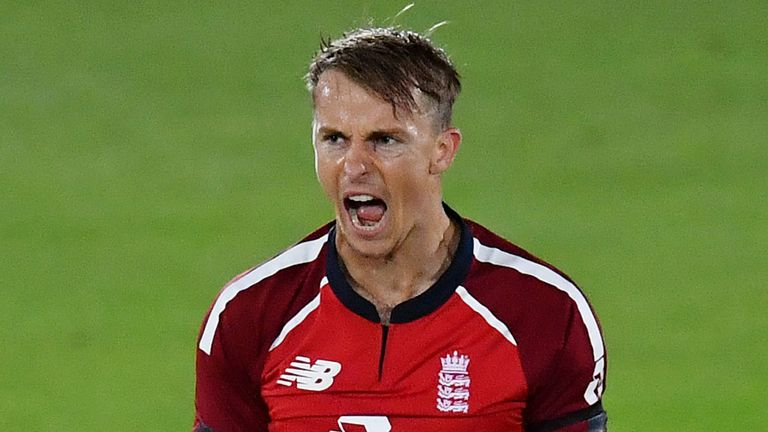 Tom Curran has been awarded a white-ball contract after impressing in the limited-overs formats