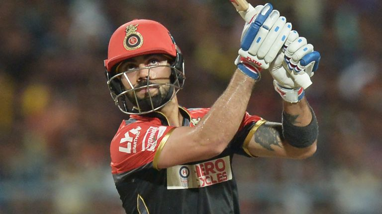 Virat Kohli hit the winning runs as RCB moved up to second in the IPL table