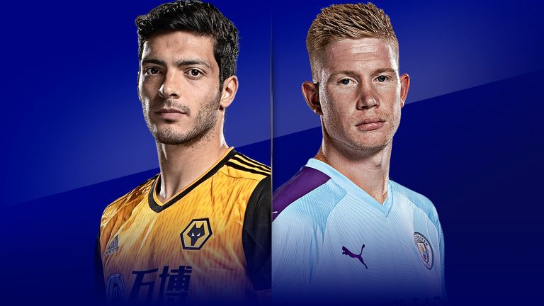 Wolves vs Man City will be live on Sky Sports Premier League from 8pm on Monday