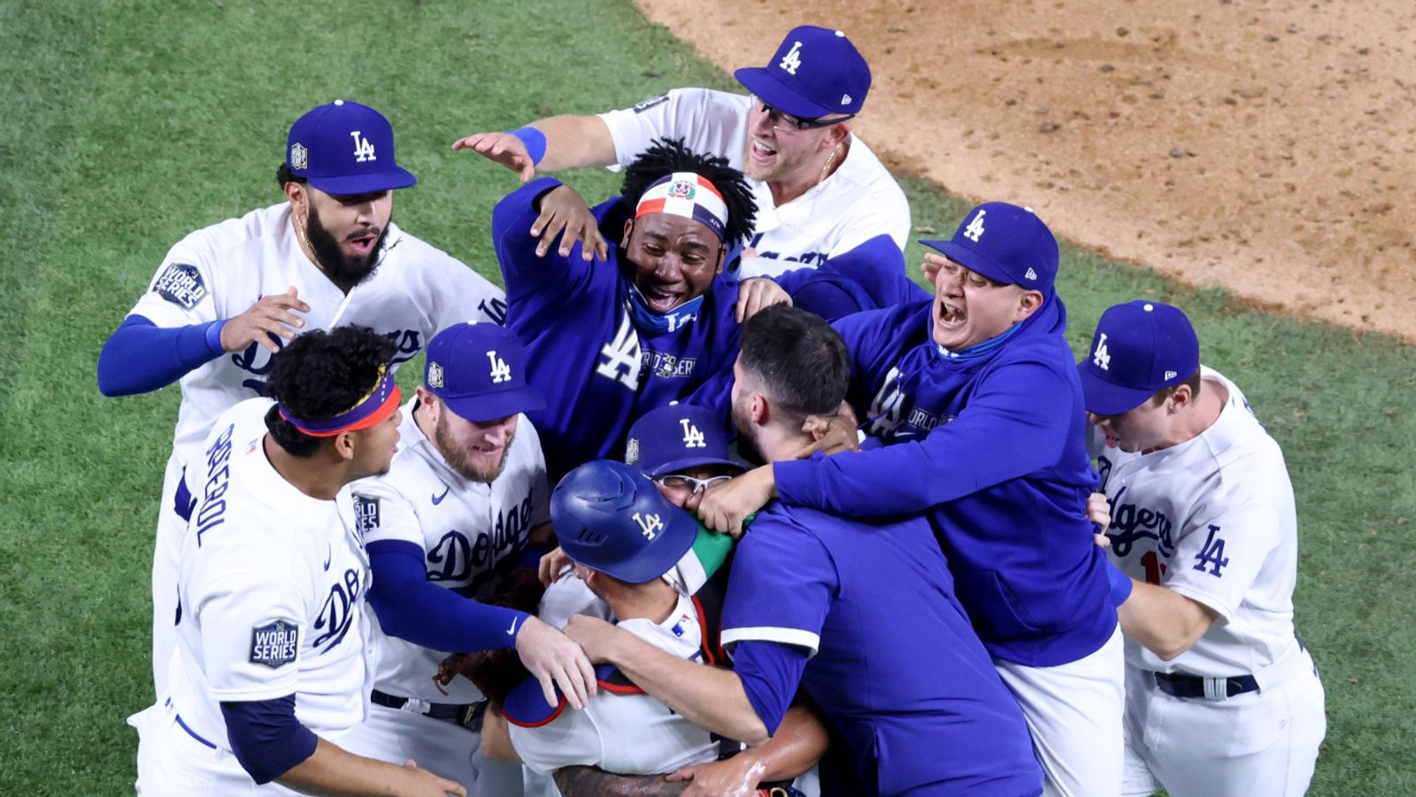 Los Angeles Dodgers beat Tampa Bay Rays to win first World ...  Dodgers Baseball