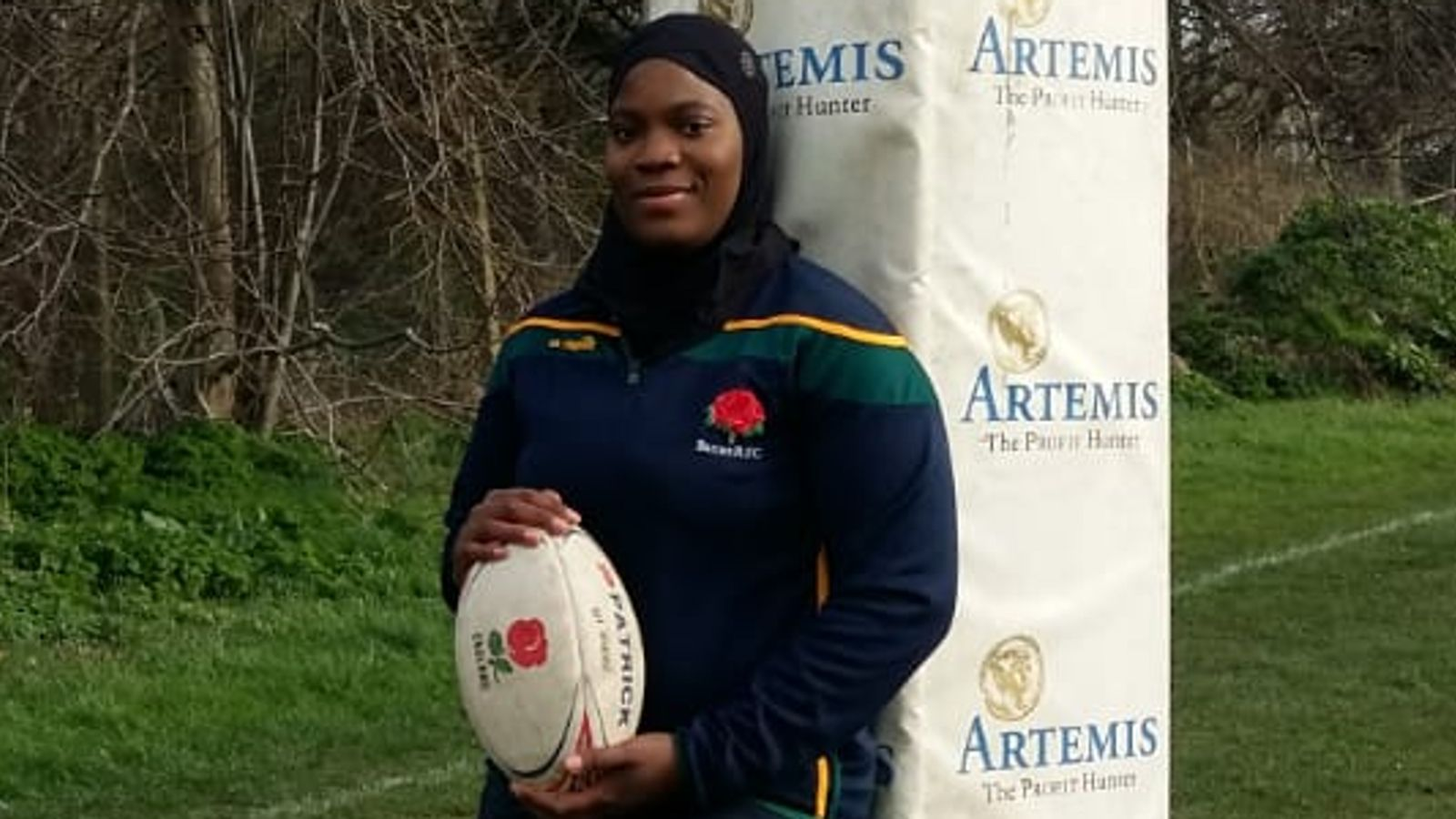 Zainab Alema: If you're black, Muslim and a woman you can still play rugby