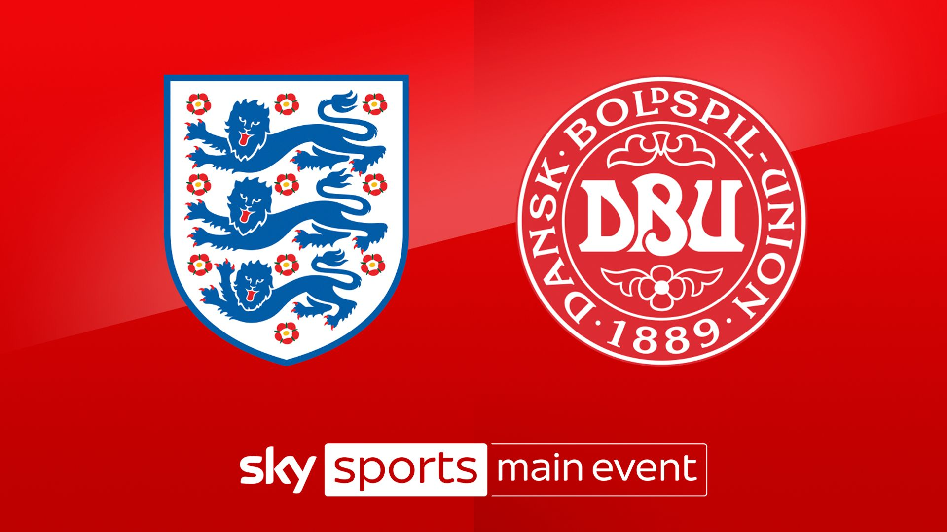 Live on Sky: England vs Denmark preview