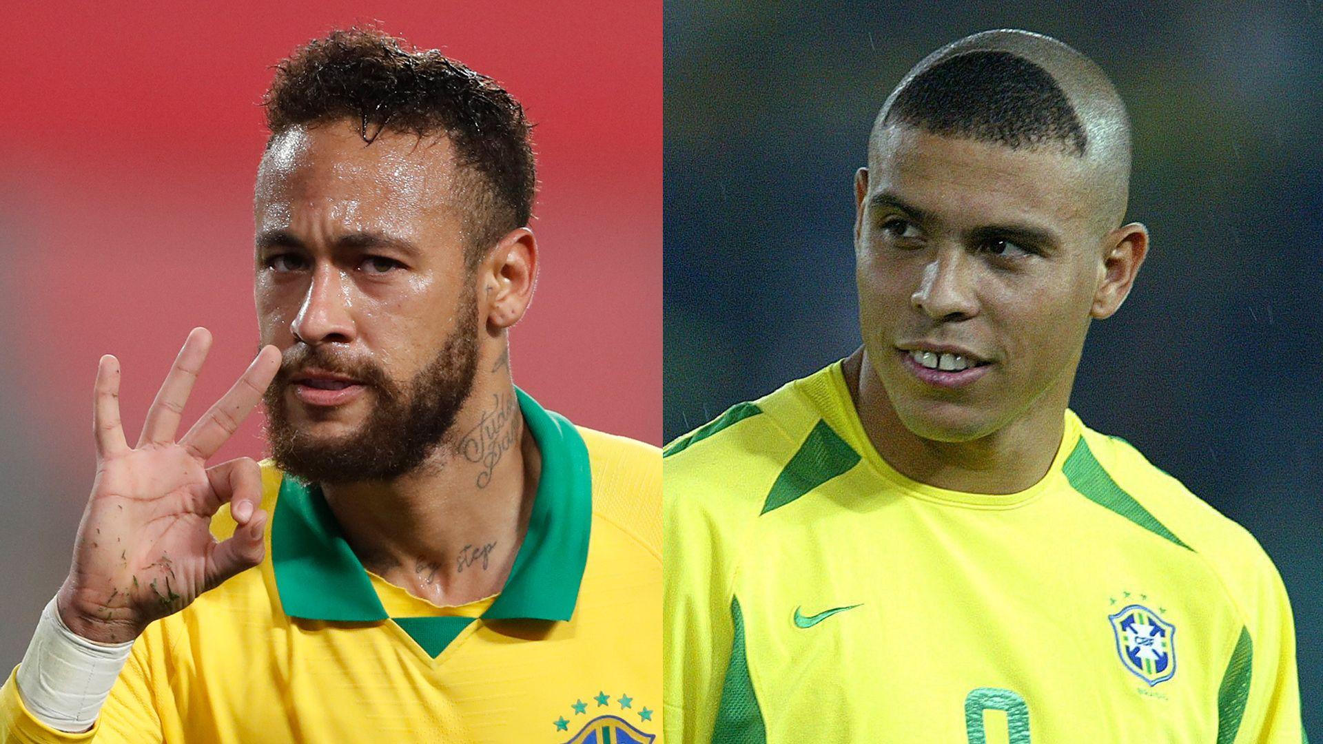 Neymar overtakes Ronaldo in Brazil win