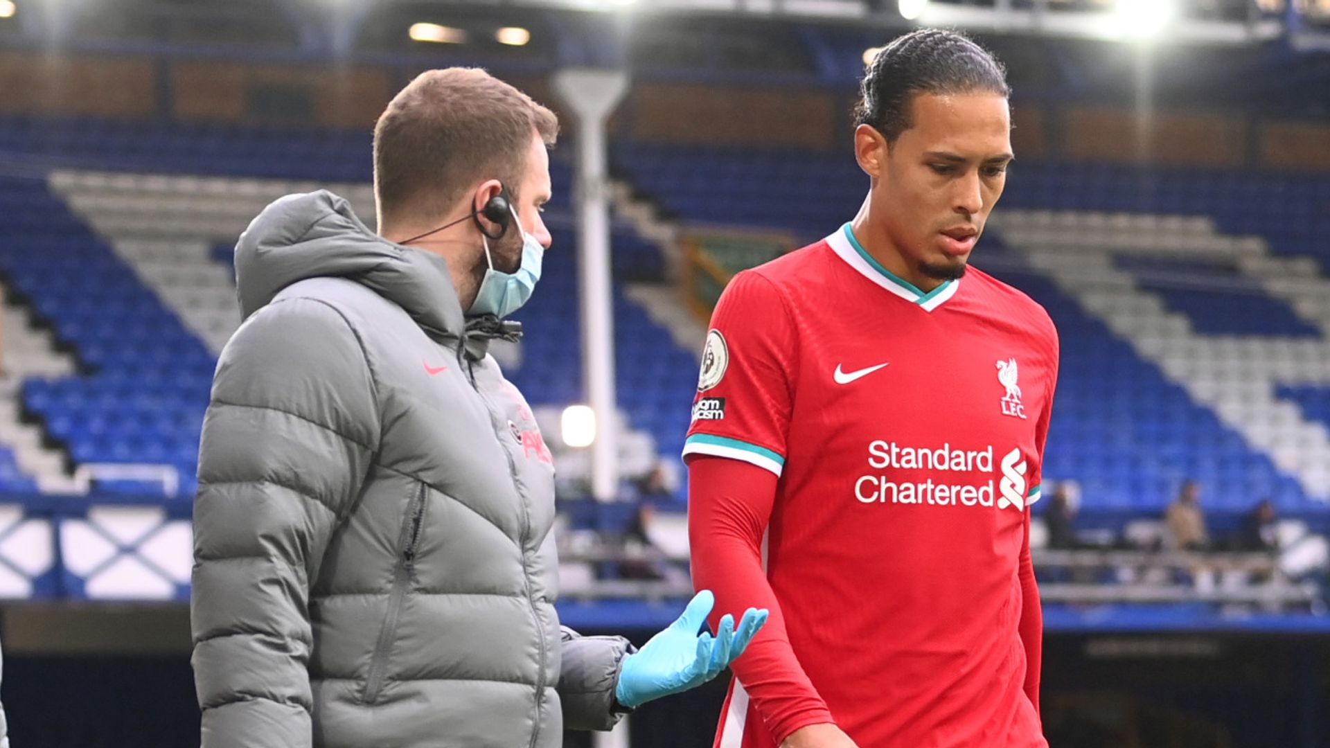 Van Dijk blow leaves Liverpool stepping into unknown