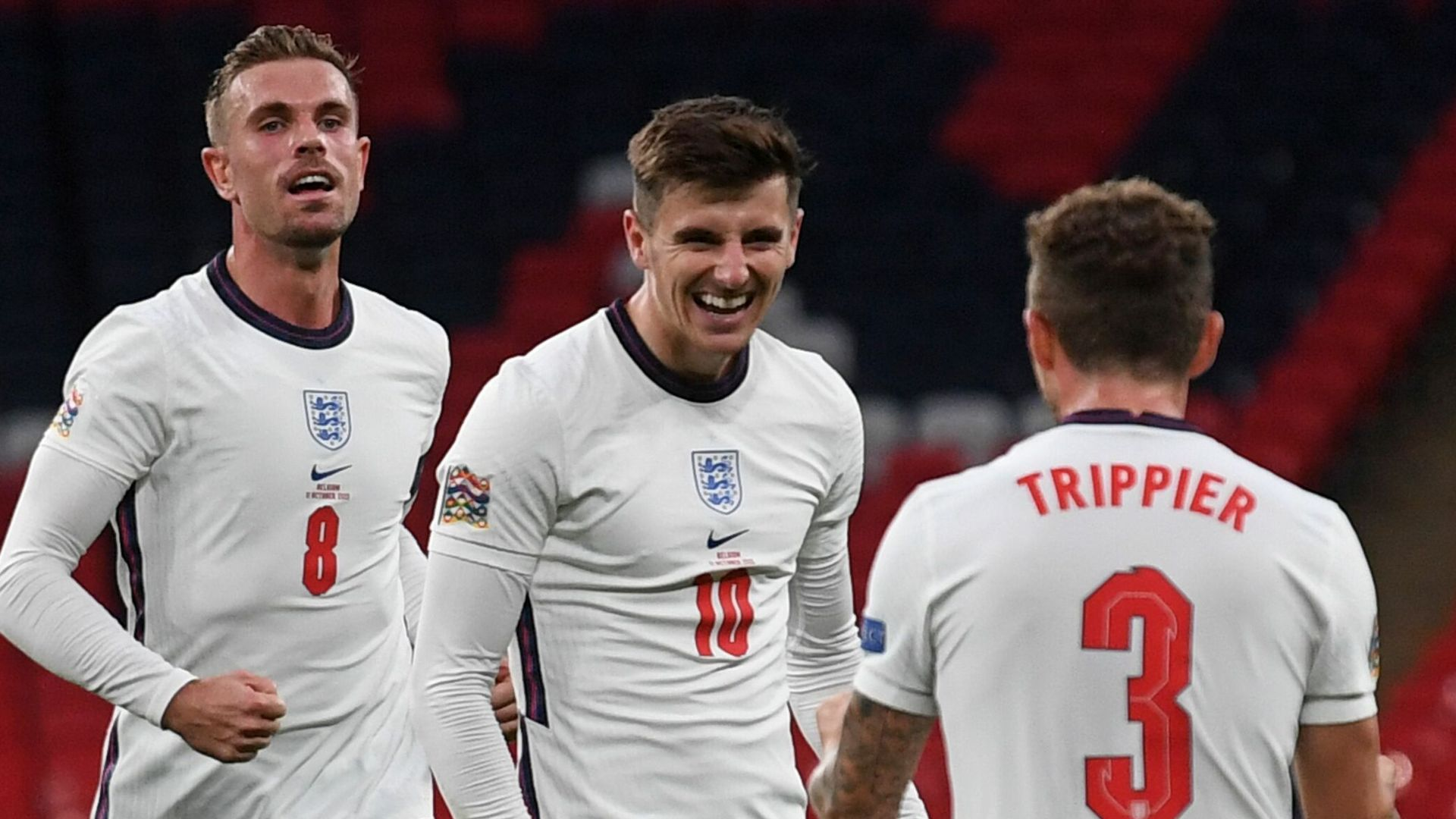 England top group after battling win over Belgium