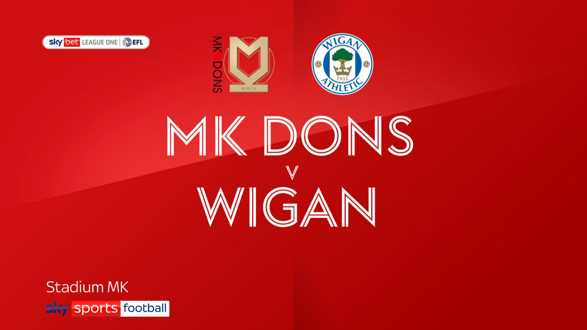 MK Dons see off Wigan