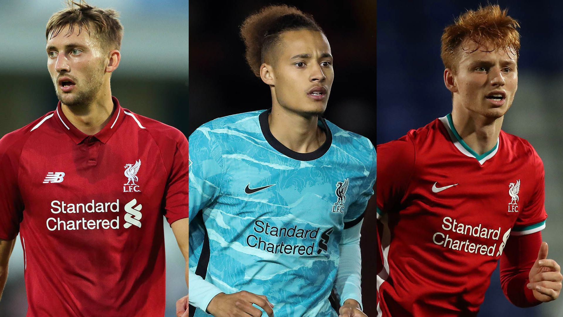 The young players who could cover Van Dijk