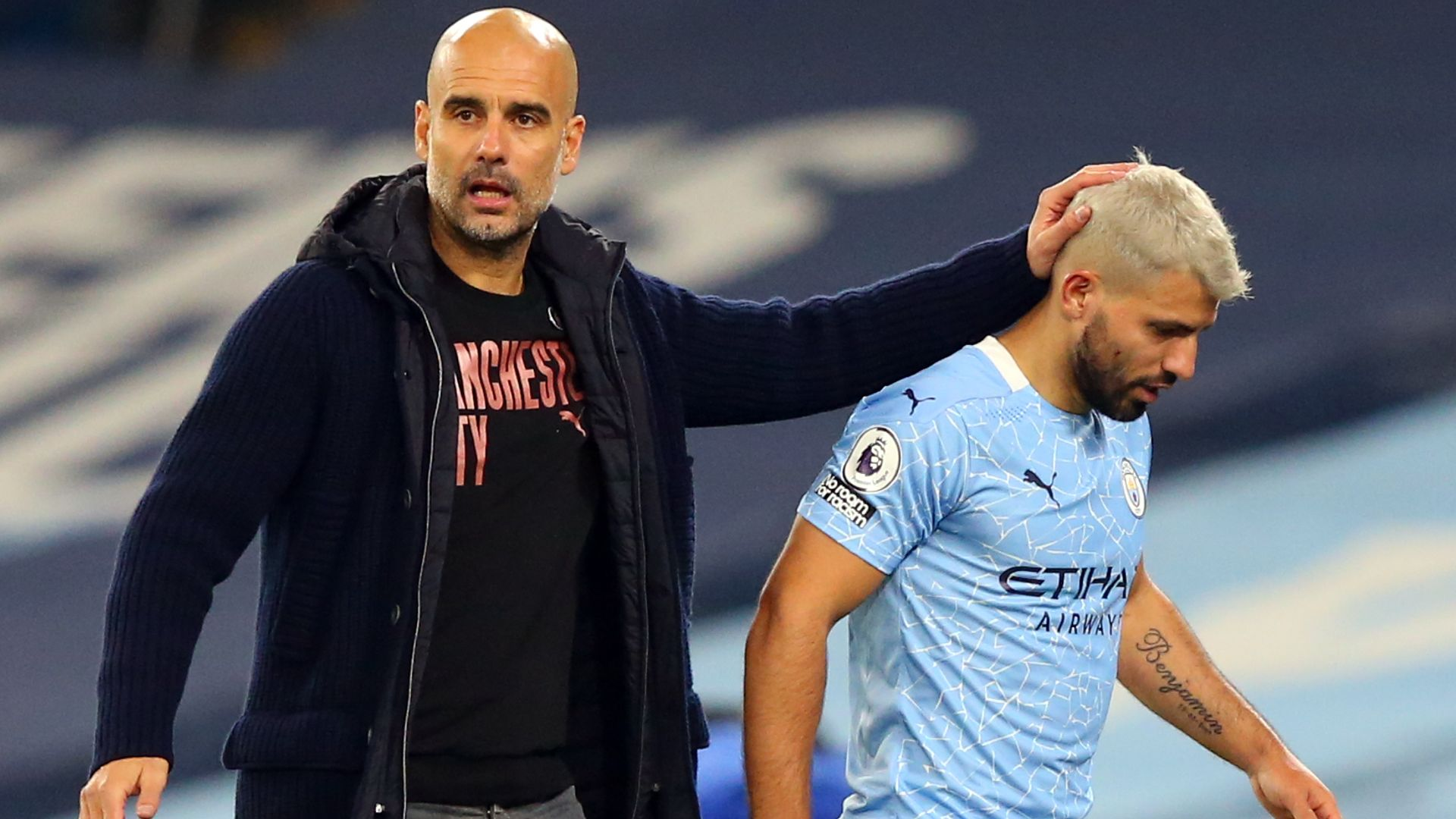 Pep: Aguero must earn City contract extension