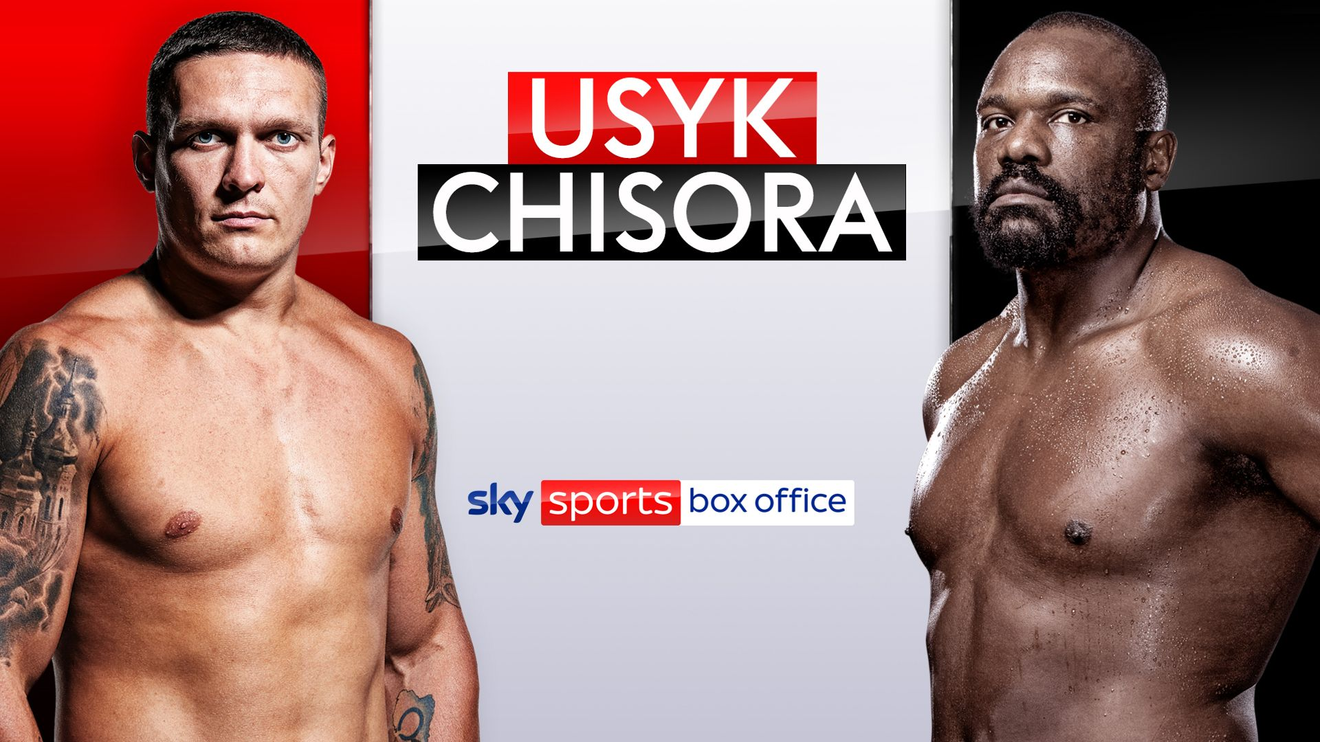 Usyk vs Chisora: Book it now!