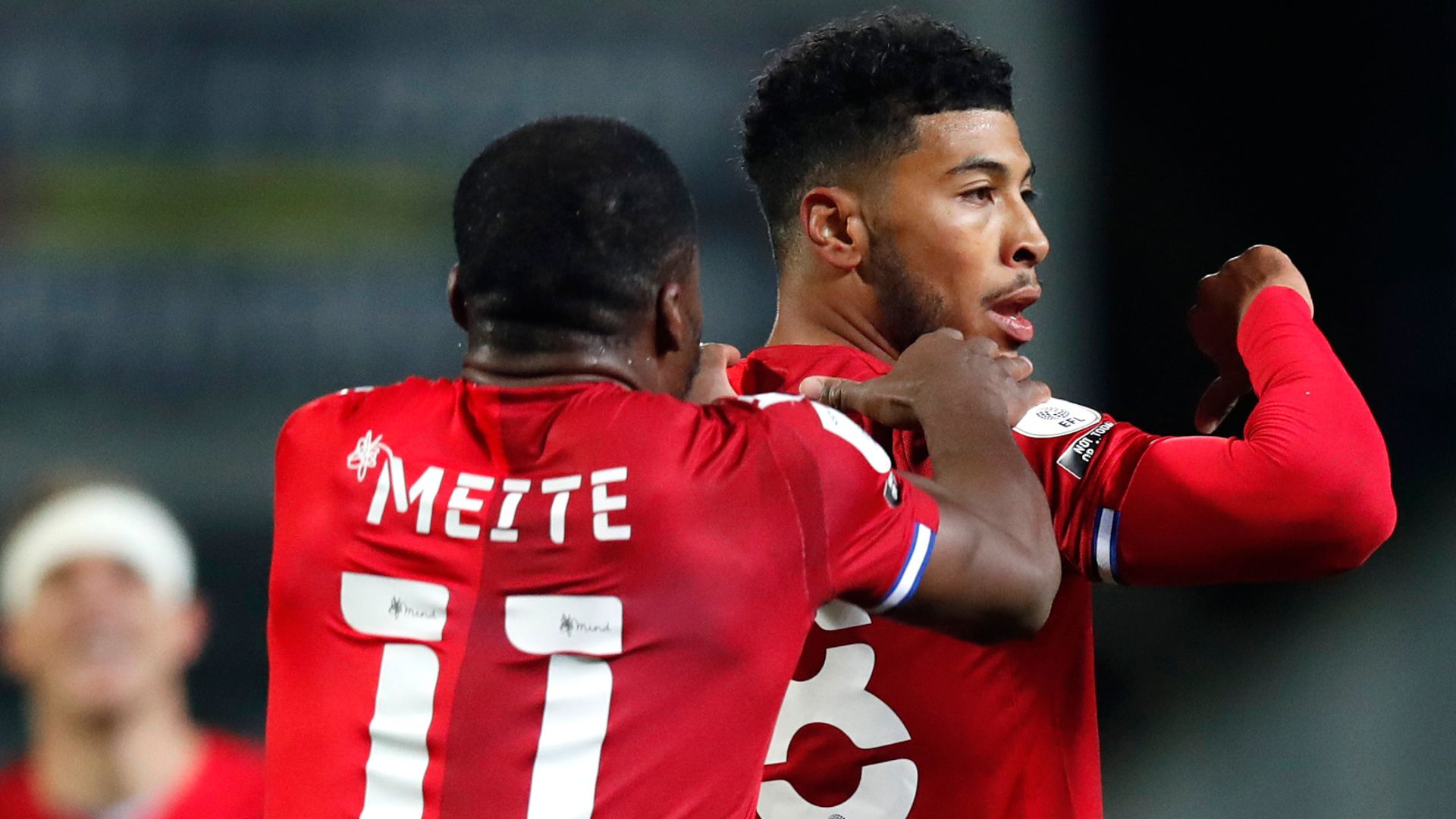 Reading seven clear after Meite record