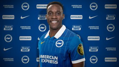 Brighton have signed striker Danny Welbeck on a one-year contract (Picture courtesy of Brighton FC)