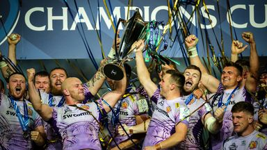 Exeter will begin their European Cup title defence at home to Glasgow Warriors