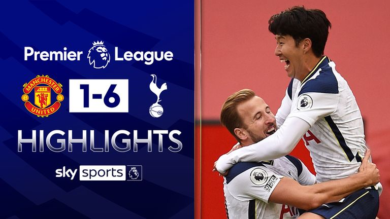 FREE TO WATCH: Highlights from Tottenham's win at Manchester United in the Premier League