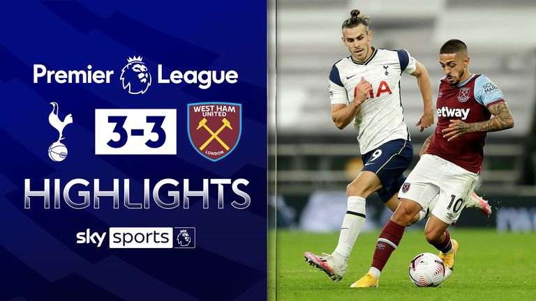 Manuel Lanzini's screamer seals incredible comeback for West Ham at Tottenham