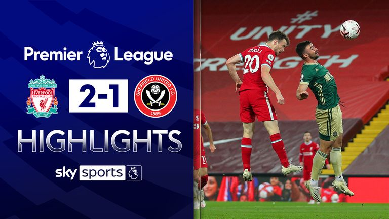 FREE TO WATCH: Highlights from Liverpool's win against Sheffield United in the Premier League.