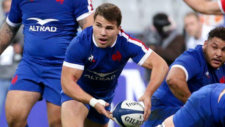 Scrum-half Antoine Dupont has been in superb form for France