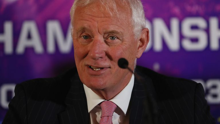 PDC and World Snooker Tour chairman Barry Hearn has returned a positive swab for Covid-19